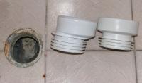 guarnizioni water normale ed eccentrica
